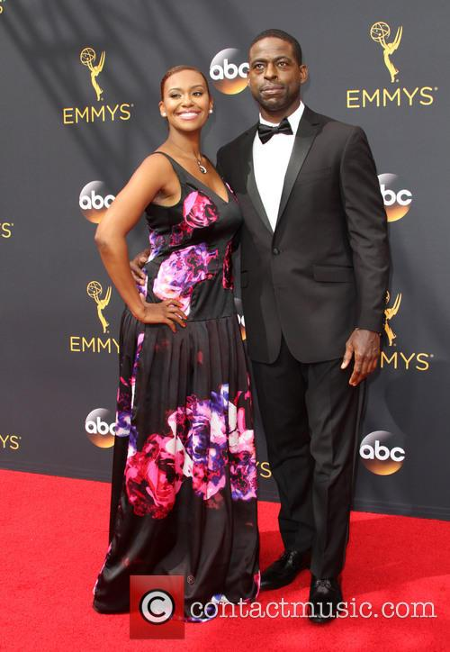 Sterling K. Brown and Ryan Michelle Bathe 1