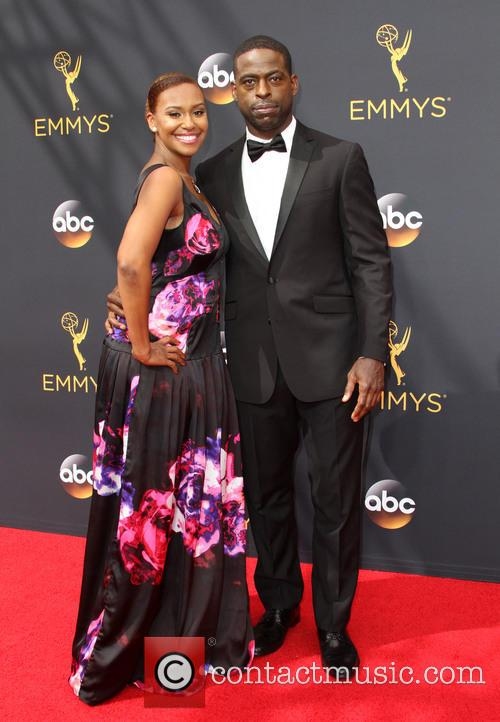 Sterling K. Brown and Ryan Michelle Bathe 2