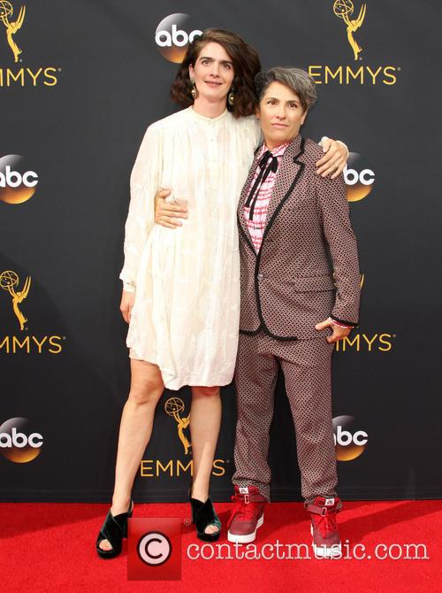 Jill Soloway and Gaby Hoffmann