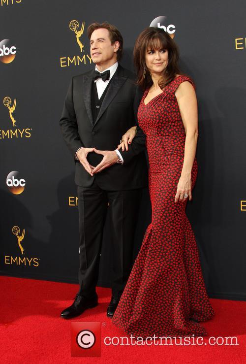John Travolta and Kelly Preston 1