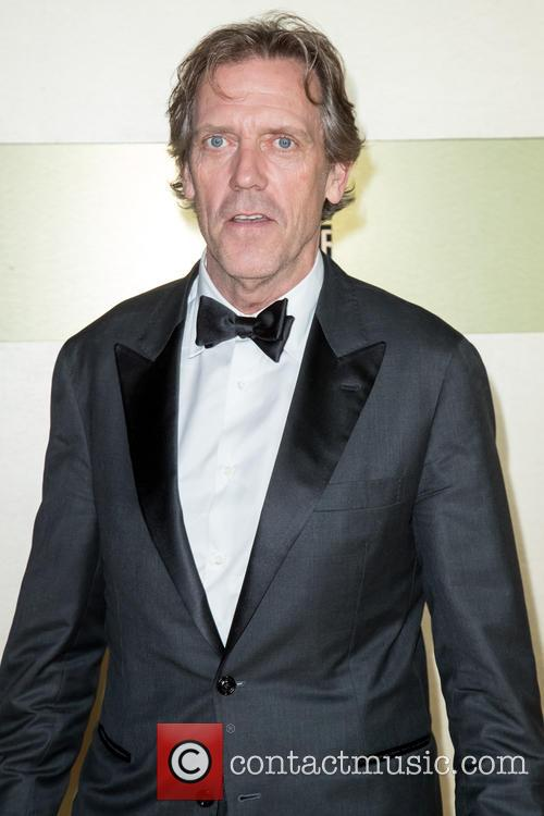Hugh Laurie Accepts Star On Hollywood Walk Of Fame
