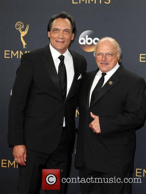 Jimmy Smits and Dennis Franz 7