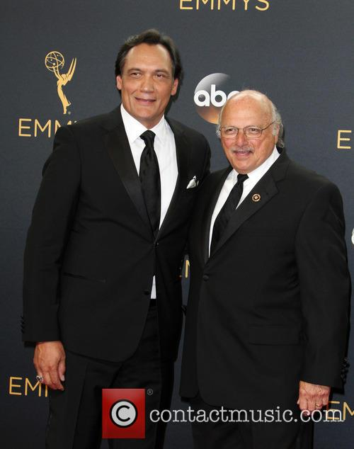 Jimmy Smits and Dennis Franz 8