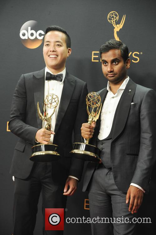 Alan Yang and Aziz Ansari