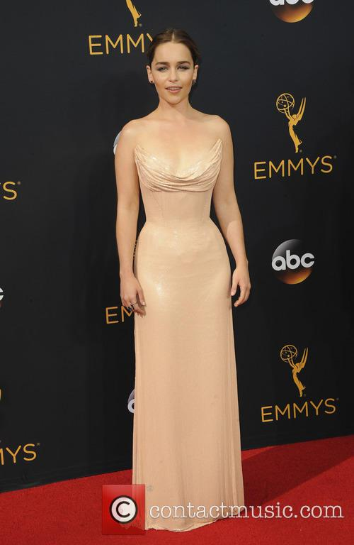 Emilia Clarke at the Primetime Emmy Awards