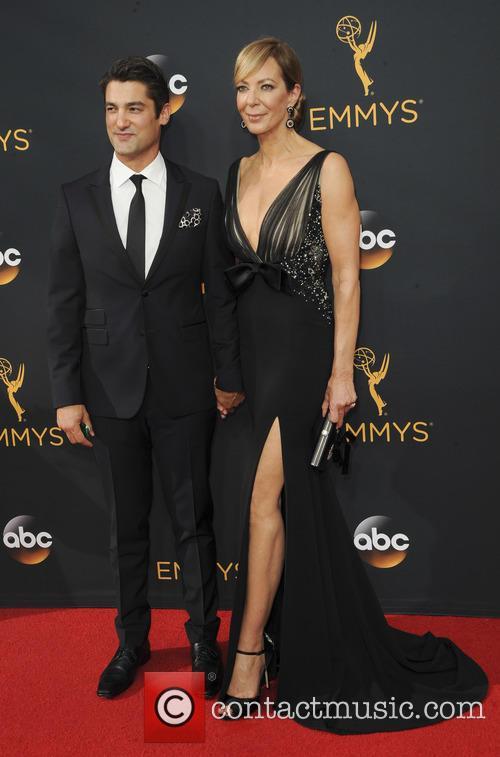 Allison Janney and Philip Joncas