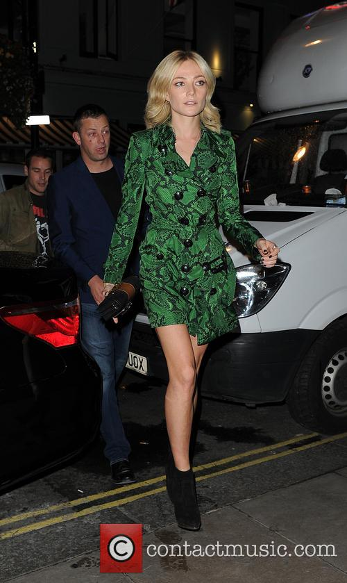 Celebrities arrive at Soho House dinner party after...