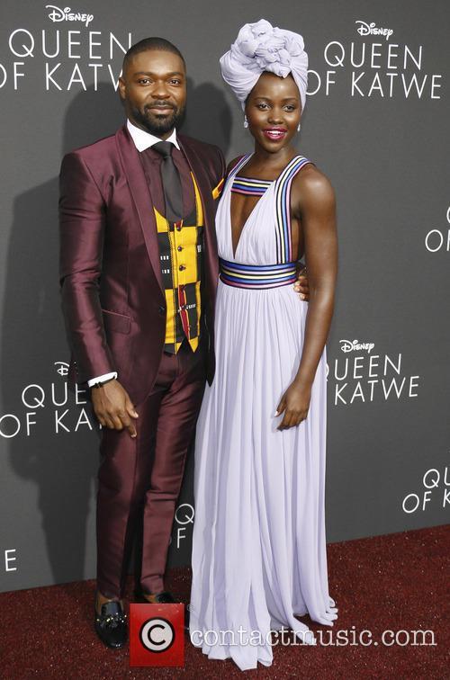 David Oyelowo and Lupita Nyong'o 2