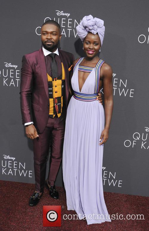 David Oyelowo and Lupita Nyong'o 8