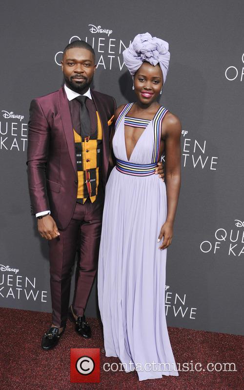 David Oyelowo and Lupita Nyong'o 9