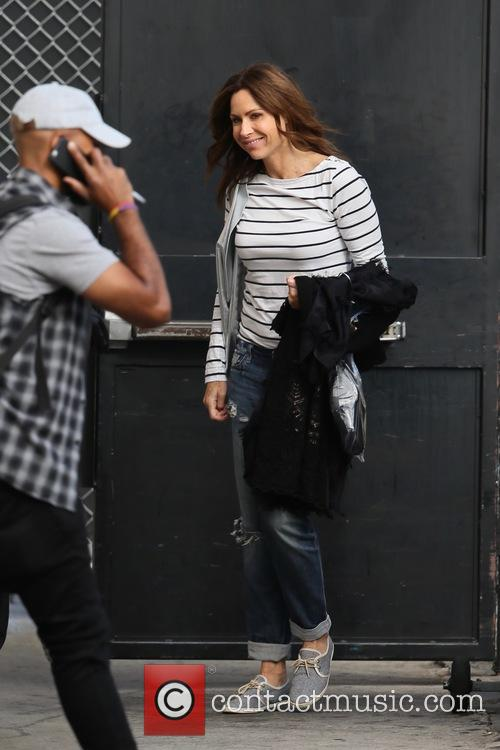 Minnie Driver seen at the ABC studios