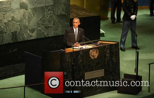 President Barack Obama at UN NY