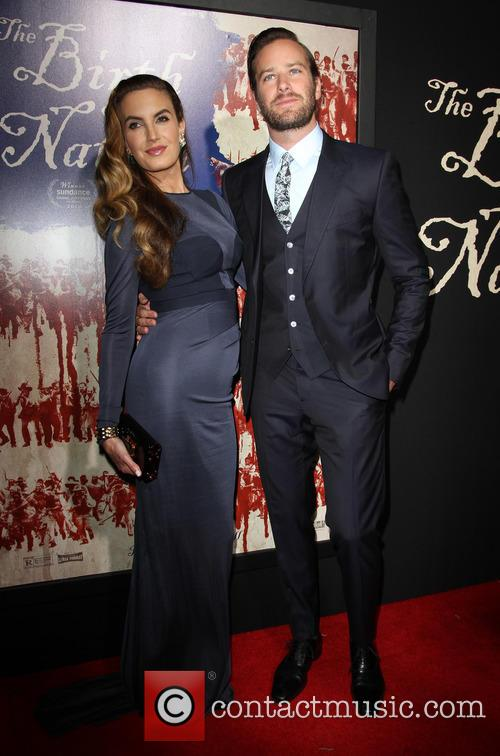 Armie Hammer and Wife Elizabeth Chambers 10