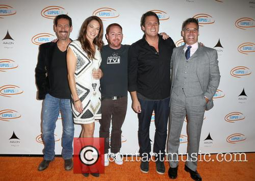 Amanda Righetti, Scott Grimes, Bob Guiney and Adrian Pasdar 2