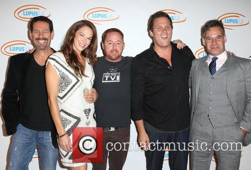 Amanda Righetti, Scott Grimes, Bob Guiney and Adrian Pasdar 3