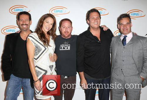 Amanda Righetti, Scott Grimes, Bob Guiney and Adrian Pasdar 4