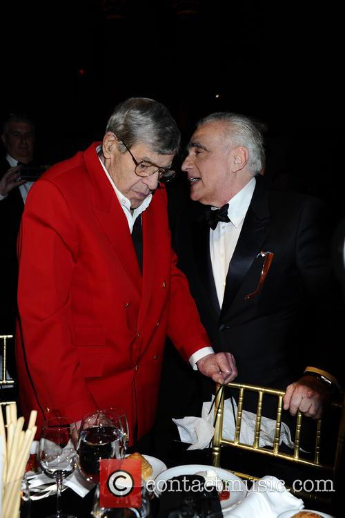 Jerry Lewis and Martin Scorsese
