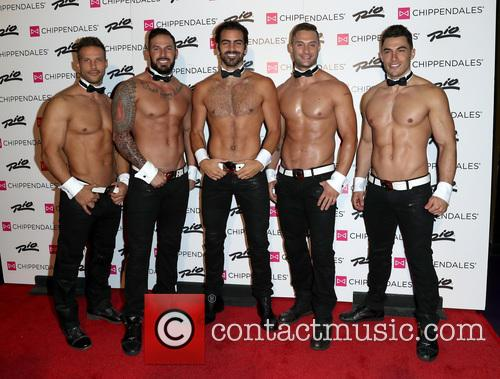 Nyle DiMarco with Chippendales