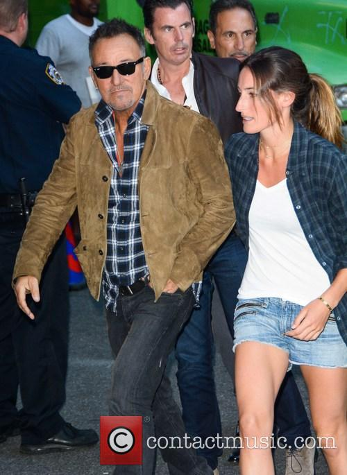 Bruce Springsteen and Jessica Springsteen 2