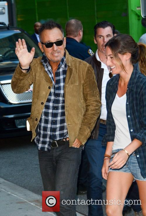 Bruce Springsteen and Jessica Springsteen 3