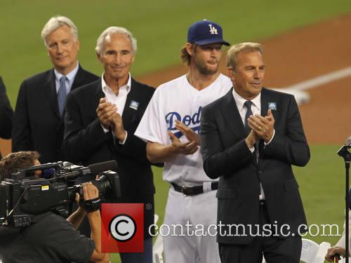 Kevin Costner, Clayton Kershaw and Sandy Koufax 5