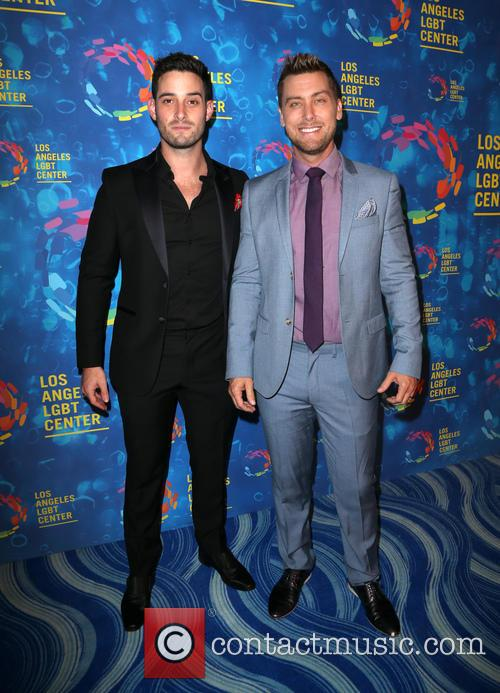 Michael Turchin and Lance Bass