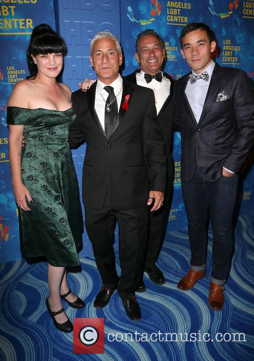 Pauley Perrette, Greg Louganis, Johnny Chaillot and Conrad Ricamora