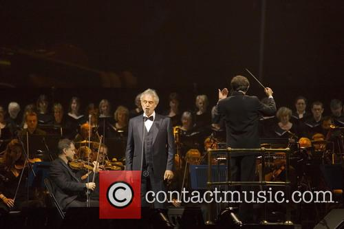 Andrea Bocelli headlines the SSE Hydro at the...