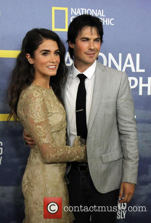 Nikki Reed and Ian Somerhalder at 'Years of Living Dangerously' premiere