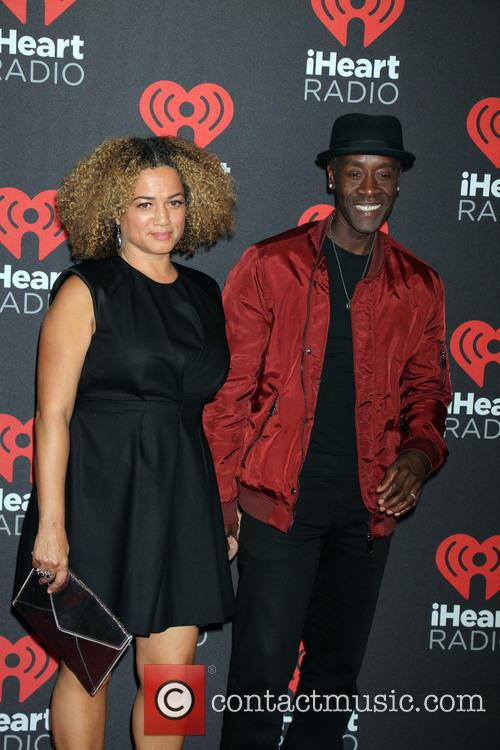 Don Cheadle and Bridgid Coulter 1