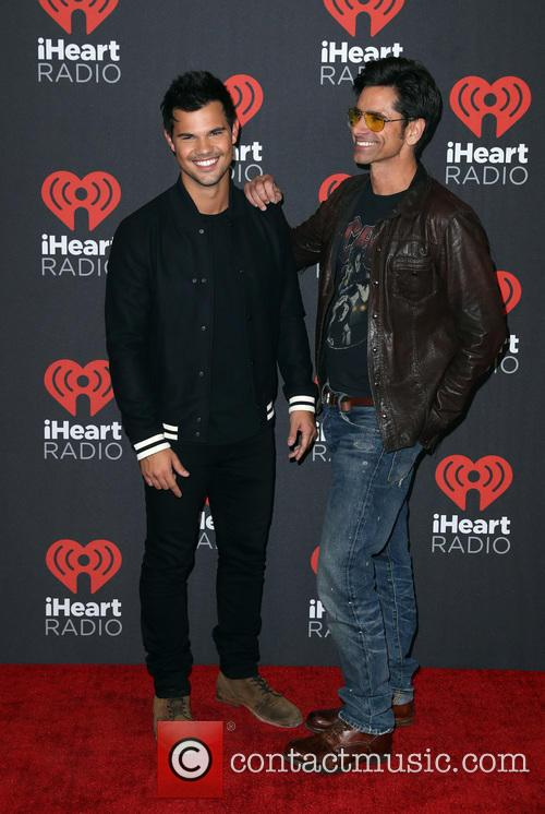 Taylor Lautner and John Stamos 2
