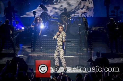 Robbie Williams and Roundhouse 5