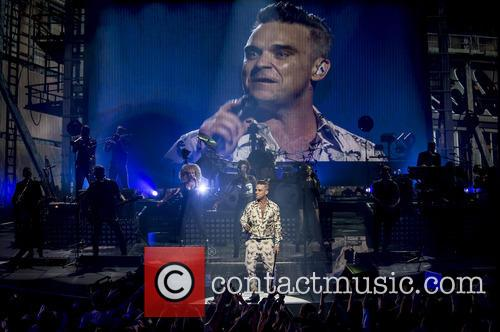 Robbie Williams and Roundhouse 8