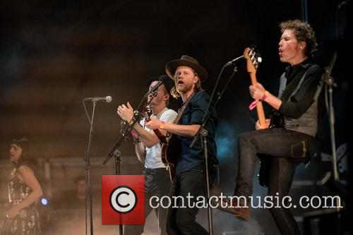 Jeremiah Fraites, The Lumineers and Wesley Schultz 1