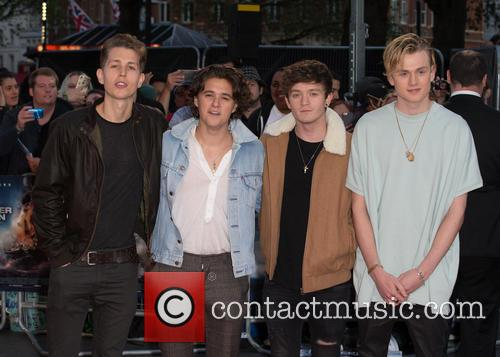 The Vamps, Connor Ball, Bradley Simpson, James Mcvey and Tristan Evans 2