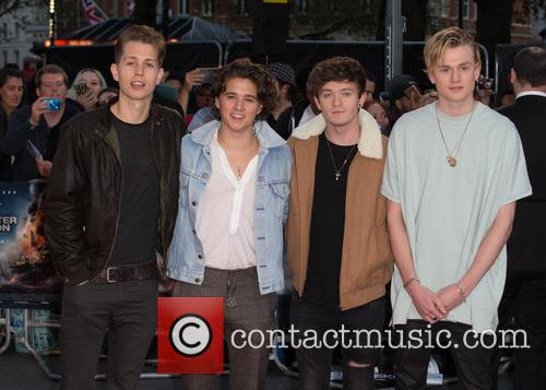 The Vamps, Connor Ball, Bradley Simpson, James Mcvey and Tristan Evans 3