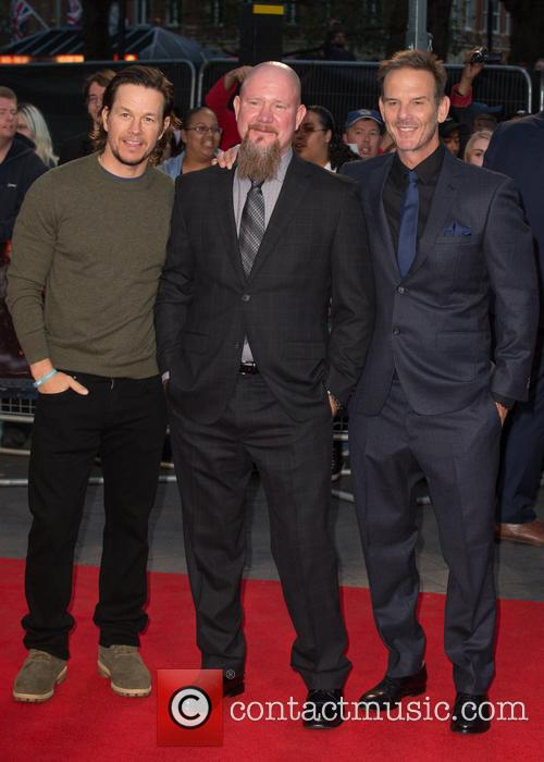 Mark Wahlberg, Mike Williams and Peter Berg 8