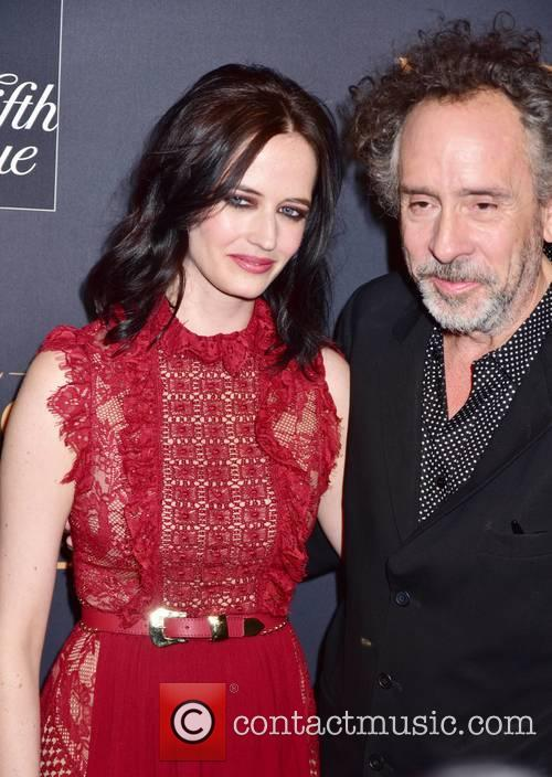 Eva Green and Tim Burton