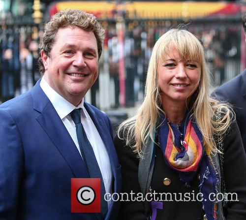 Michael Ball and Sara Cox 1