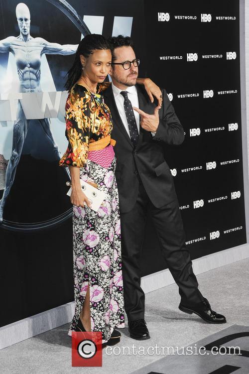 Thandie Newton and J.j. Abrams 2