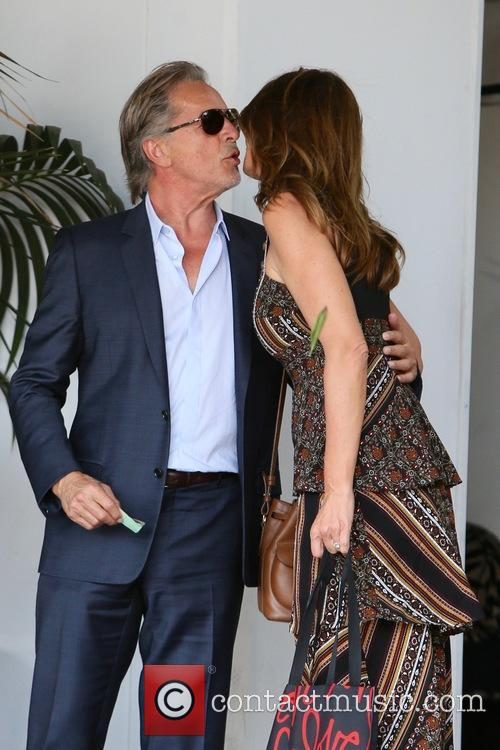 Don Johnson and Cindy Crawford