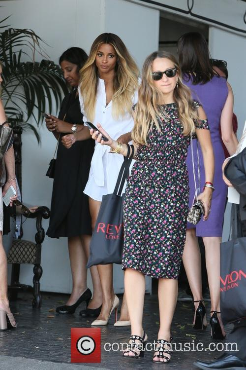 Jennifer Meyer and Ciara 2