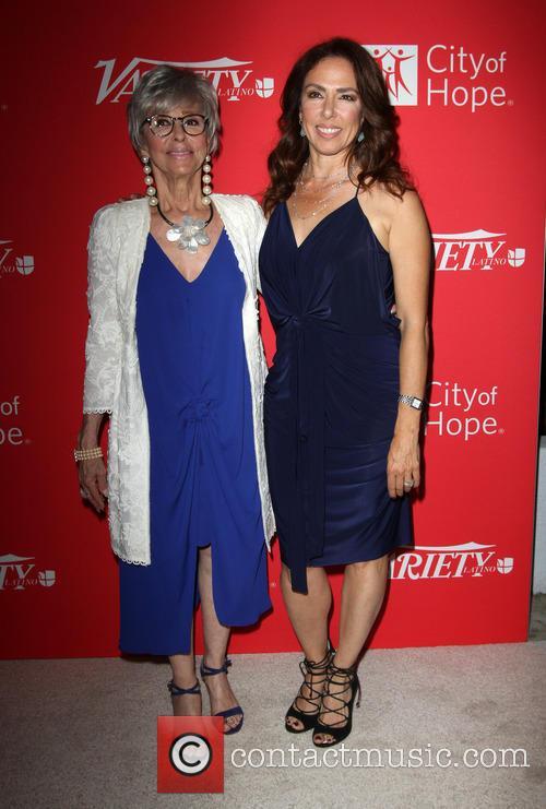 Rita Moreno and Daughter Fernanda Luisa Gordon 8