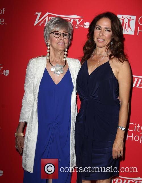 Rita Moreno and Daughter Fernanda Luisa Gordon 9