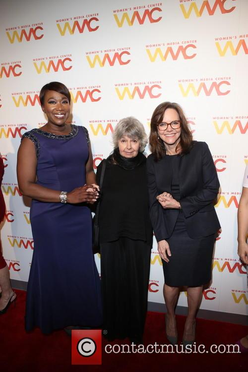Joy Reid, Robin Morgan and Sally Field 5
