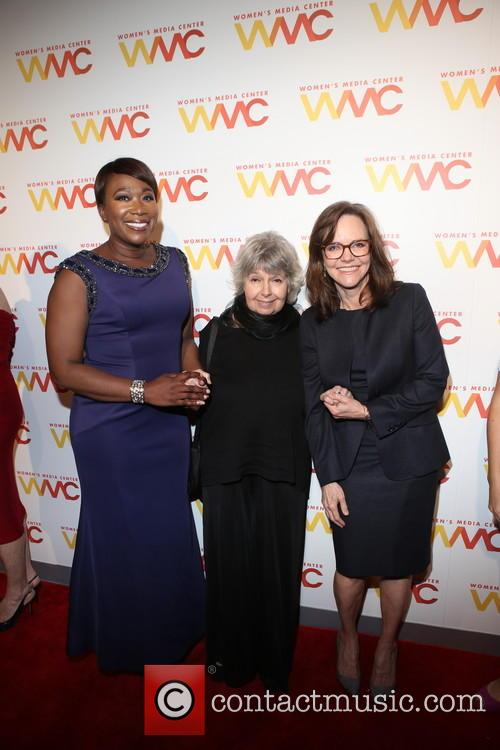 Joy Reid, Robin Morgan and Sally Field 6