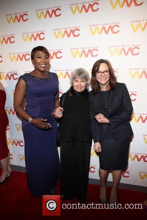 Joy Reid, Robin Morgan and Sally Field 7