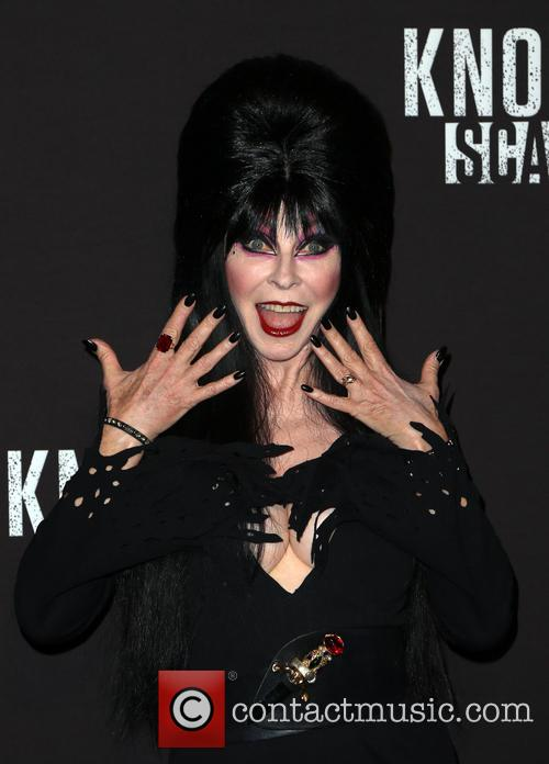 Cassandra Peterson and Aka Elvira 6