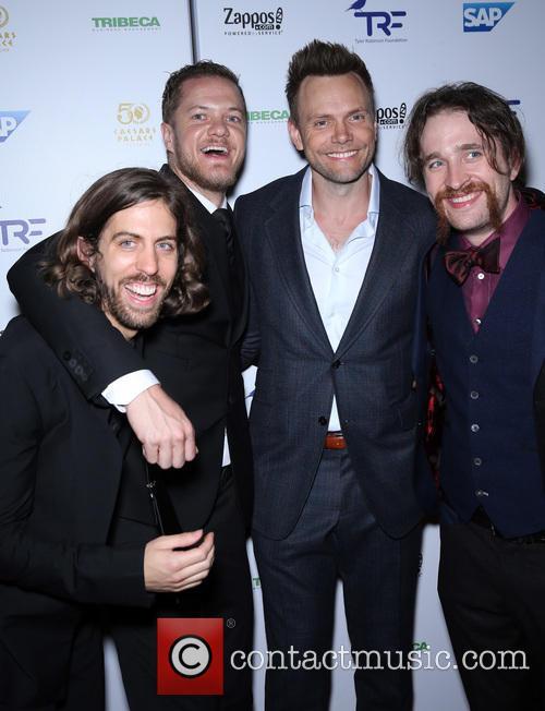 Dan Reynolds, Joel Mchale and Imagine Dragons 3
