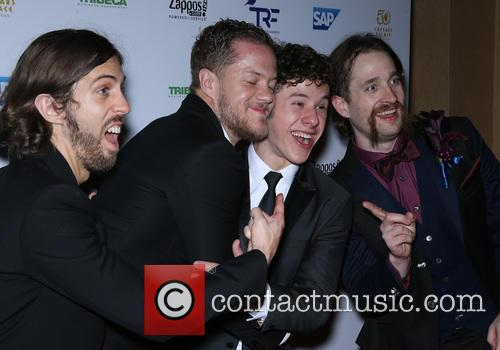 Imagine Dragons and Nolan Gould 5